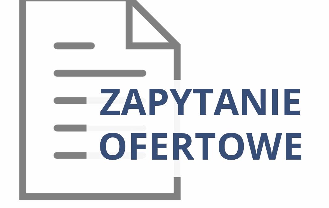 Zapytanie ofertowe nr ZAN.VII/7062/17/2021 – sprzątanie w budynkach Wspólnot